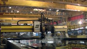 Shipyard stock footage