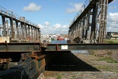 Shipyard Ramp Royalty Free Stock Photography