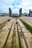 Shipyard ramp Royalty Free Stock Photos