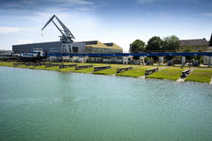 Shipyard Royalty Free Stock Photography