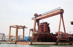 Shipyard Shipbuilding, ship-repair Stock Photography