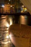 Shipyard welder Royalty Free Stock Image