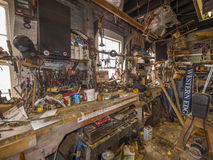 Shipyard workshop Royalty Free Stock Image