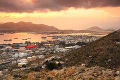 Shipyards in Perama, Piraeus, Athens. Stock Photo