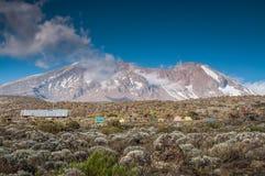 Shira Campsite, Kilimanjaro Stock Photos
