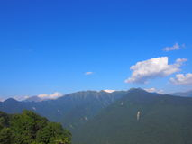 Shirabiso Highland in Iida, Southern Nagano, Japan Royalty Free Stock Images