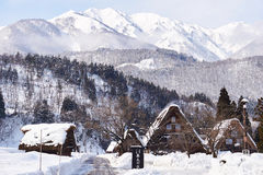 Shiragawa-går byn Royaltyfri Bild