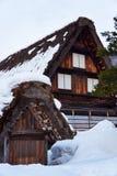 Shiragawa-går byn Royaltyfria Foton