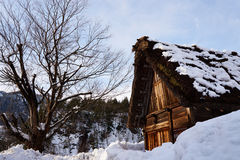 Shiragawa-go village. In Takayama, Japan Stock Photography
