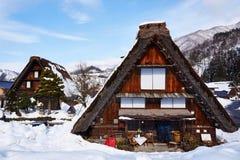 Shiragawa-go village. In Takayama, Japan Royalty Free Stock Photos