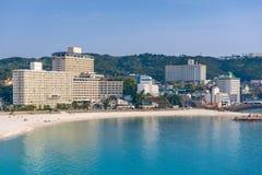 Shirahama Japan strand royaltyfria bilder