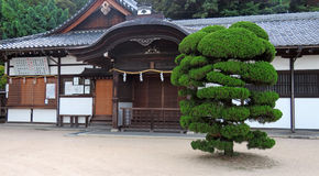 Shirahige shrine at Lake Biwa in Japan Stock Photography