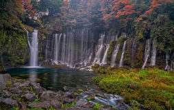 Shiraito falls royalty free stock photo