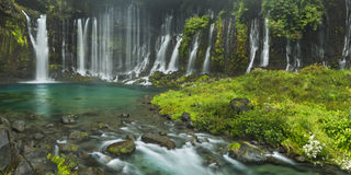 Shiraito Falls near Mount Fuji, Japan Stock Image