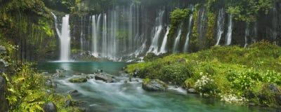 Shiraito Falls near Mount Fuji, Japan Stock Photos
