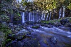 Shiraito-Wasserfall Stockfotografie