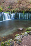 Shiraito Waterfall in autumn season Royalty Free Stock Photography