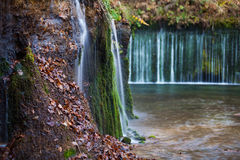 Shiraito Waterfall in autumn season Royalty Free Stock Photo