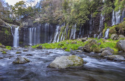 Shiraito Waterfall 1 Stock Photo