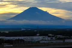 Shiraitowaterval in de zuidwestelijke uitlopers van Onderstel Fuji Shizuoka Japan Royalty-vrije Stock Fotografie
