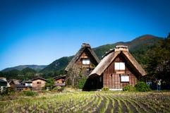 Shirakawa-πηγαίνετε Στοκ Εικόνες