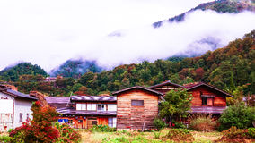 Shirakawa идет деревня в Японии Стоковые Фотографии RF