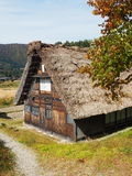 Shirakawa идет, Япония, 2015 Один из много домов в Shiragawa идет стоковые изображения rf