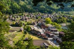 Shirakawa-пойдите Стоковая Фотография