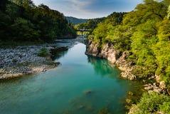 Shirakawa-пойдите Стоковая Фотография RF
