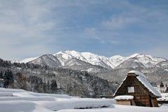 是shirakawa 免版税图库摄影