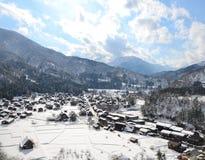 Shirakawa-allez Image libre de droits