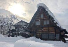 Shirakawa-allez Photos stock