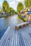 Shirakawa canal in Kyoto Royalty Free Stock Photography