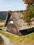 Shirakawa disparaissent, le Japon, 2015 Une des nombreuses maisons dans Shiragawa disparaissent Images libres de droits