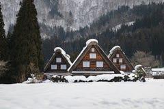 Shirakawa-Dorf Stockbilder
