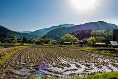 Shirakawa-gå Arkivfoto