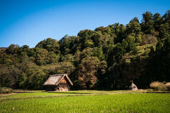 Shirakawa-gå Royaltyfri Foto