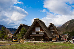 Shirakawa-ga, Japan Stock Afbeelding