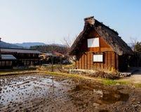 Shirakawa-gehen Dorf, Japan 5 Lizenzfreie Stockbilder