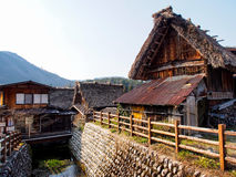 Shirakawa-gehen Dorf, Japan 6 Lizenzfreies Stockfoto