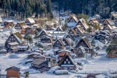 Shirakawa-gehen nationales Dorf UNESCO Erb Stockbild