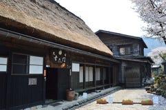 Shirakawa-gehen Sie Stockfotografie
