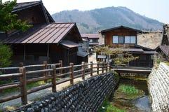 Shirakawa-gehen Sie Lizenzfreie Stockbilder