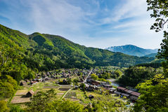 Shirakawa-gehen Sie Stockbild