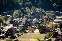 Shirakawa-gehen Sie Stockfotos