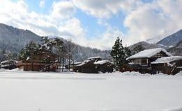 Shirakawa-gehen Sie Lizenzfreie Stockfotos