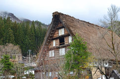 Shirakawa-Go Gassho House Royalty Free Stock Photography