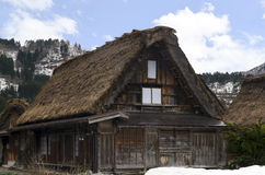 Shirakawa-Go Gassho House Stock Photo