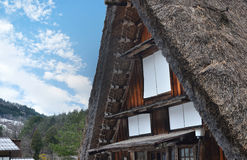 Shirakawa-Go Gassho House Stock Photos