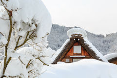 Shirakawa go Royalty Free Stock Photo